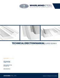 Super Seam II Technical Erection Manual